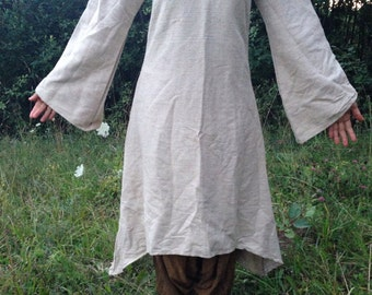 SALE ~ Fairy Dress From Thick Raw silk ~ Small Size