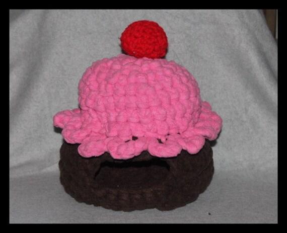 Guinea Pig Hedgehog Cupcake Sleep Hut Bed All By