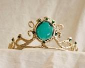 Emerald Cabochon Tiara