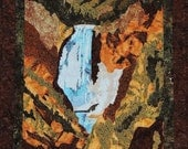 Yellowstone National Park_Artist's Point_ Fusible Applique Pattern