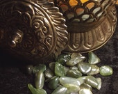 Nephrite Jade Tumbled Gemstone - Love, Money, Healing, Positivity, Mental Clarity