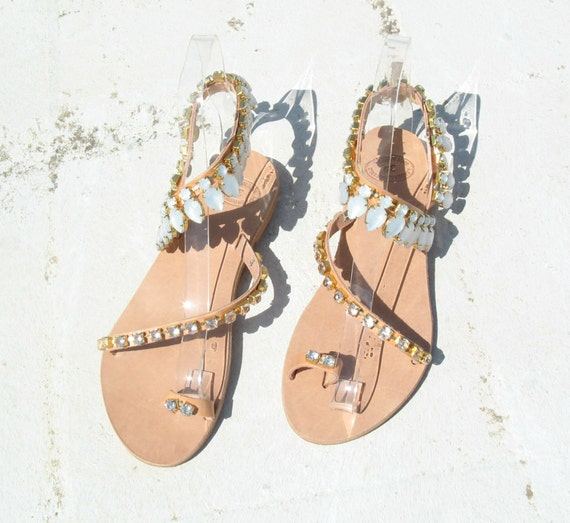 Greek leather sandals, strap leather sandals women's sandals genuine leather sandals