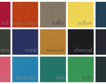 Ponte Swatches for Garments