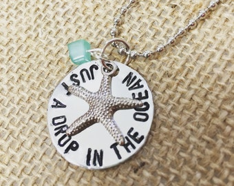 Just a Drop in the Ocean Necklace