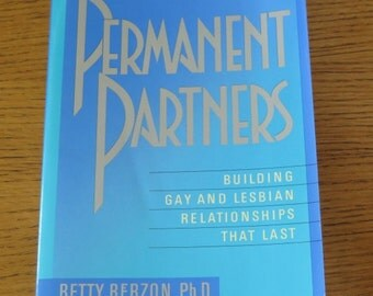 Book - Permanent Partners - Building Gay & Lesbian Relationships that Last - Self Help