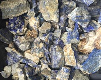 1lb+ Wholesale Rough Lapis Lazuli