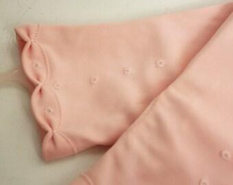 Mid Century Pink Gloves, Vintage Gloves