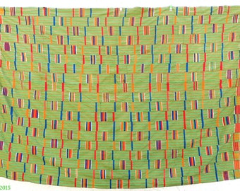 Ewe Handwoven Cotton Cloth Keta Ghana Africa Textile 92786