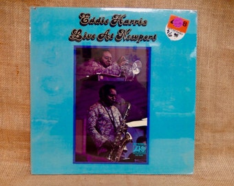 Eddie Harris - Live at Newport - 1970 Vintage Vinyl Record Album...Australian Import