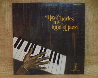 Ray Charles - My Kind of Jazz - 1970 Vintage Vinyl Gatefold Record Album