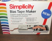 Simplicity Bias Tape Maker Machine