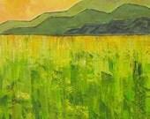 Modern Landscape Painting...HUGE Art...Kelly Hutchinson