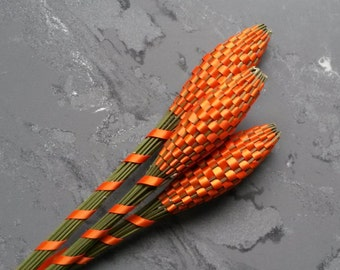 Lavender Wands - Orange Huge