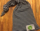 Newborn Hat - Baby Boy Hat - Photo Prop - Newborn Photo Prop -RTS