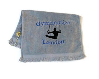 Sports towel for male gymnast