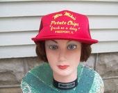 Vintage Snapback Cap Mrs. Mikes's Potato Chips