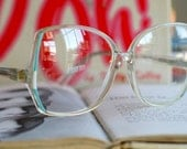 Vintage NOS 1970s Optical Glasses.....1970s. big lens. groovy. twiggy. mod. retro glasses. 1970s. disco. woodstock. hippie. urban. hipster.