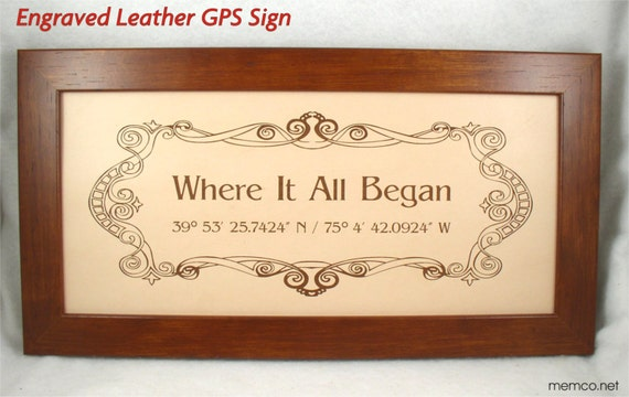 What Is 3rd Wedding Anniversary Gift: 3rd Anniversary Gift Engraved Leather Anniversary And