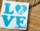 READY TO SHIP - Love breastfeeding car Decal