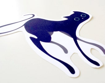 Normal Cat Sticker - Wobbles