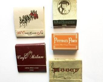 Atlanta Vintage Matchbooks
