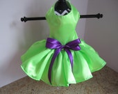 Dog Dress  XS Neon Green   By Nina's Couture Closet