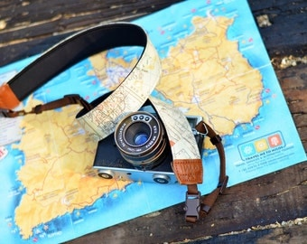 iMo Map camera strap suits for DSLR / SLR with quick release buckles