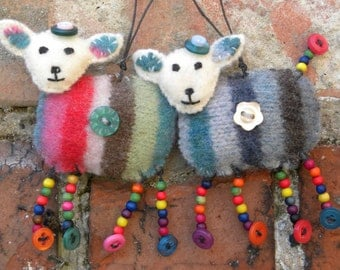 MADE TO ORDER recycled woolly lamb