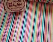 Michael Miller 'Slender Stripe' girl 100% cotton fabric
