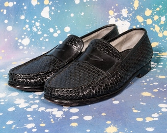 COLE HAAN Woven Loafers Men's Size 11