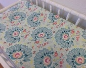 READY TO SHIP -- Floral Changing Pad Cover--