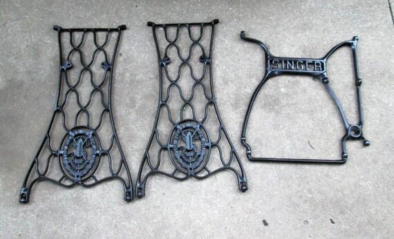 singer sewing machine legs