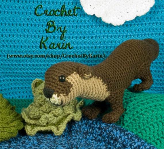 Yoda Amigurumi Pattern Free : Otter Crochet Amigurumi Pattern from CrochetByKarin on ...