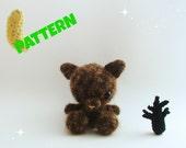 Wolf Pattern / Crochet Christmas Pattern / Black Friday Pattern / Amigurumi Christmas Pattern / Dog Pattern / Kids Pattern / Crochet Pattern