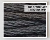 TIN BUCKET 7024 Gentle Art GAST hand-dyed embroidery floss cross stitch thread at thecottageneedle.com