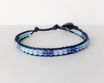 Men's Light and Dark Blue bracelet