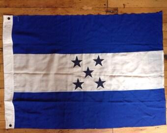 Vintage Flag of Honduras