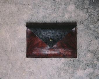 The Bobbi wallet - marble brown