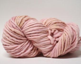 Single Ply Yarn Merino Slub Hand Dyed 44sp15009 Chamois
