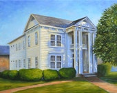 Fine Art Print- Elmcrest, Vintage Judson College, Marion Alabama