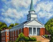 Fine Art Print- Siloam Baptist Church, Historic Judson College, Marion Alabama