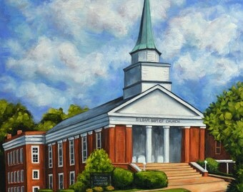 Fine Art Print- Siloam Baptist Church, Historic Judson College, Marion Alabama