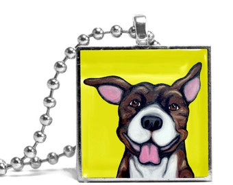 Gauge Necklace - 30% donated to Pit Bull Rescue