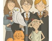 Harry Potter Group - Harry, Ron and Hermione