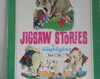 1970 Highlights Jigsaw stories puzzles