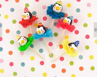 Penquin Cupcake Toppers