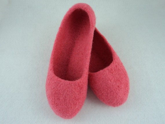 PDF Ladies Ballet Slippers Felted Wool Knitting Pattern ...