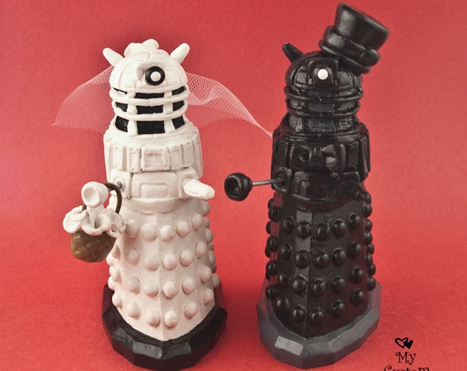 Daleks Wedding Cake Topper from Dr. Who