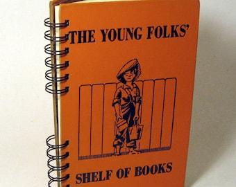 1953 READERS JOURNAL Handmade Journal Vintage Upcycled Book Gift for Teacher