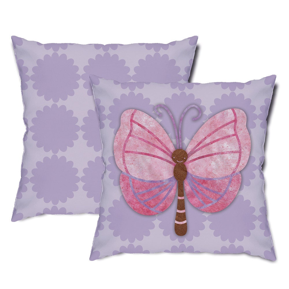 Throw Pillows With Butterfly : Big Butterfly Throw Pillow